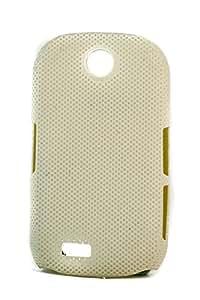 Purple Eyes Dot Hard Back Case For Samsung Corby S3650 White