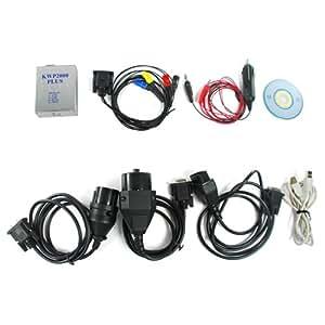 Shopinnov Câble pour diagnostic auto OBD2 KWP2000 pour BMW, VW, Mercedes, Ford