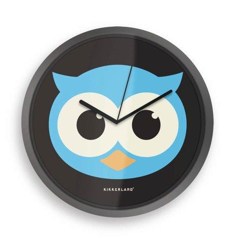 Horloge Hibou Design - Yeux fluos dans le noir