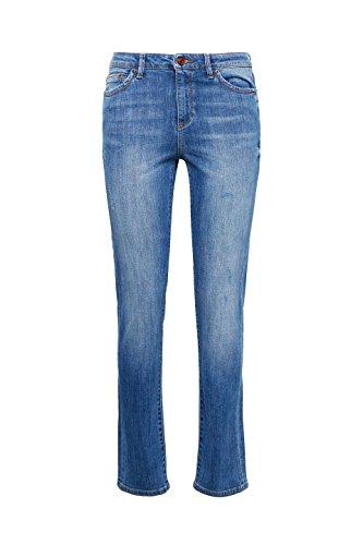 ESPRIT, Jeans Straight Donna Blu (Blue Medium Wash 902)