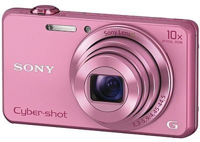 Sony Cybershot DSC-WX220/P 18.2MP Digital Camera Memory card (Pink)