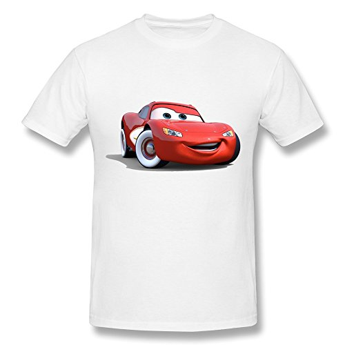 YungGoo T-shirt Herren T-Shirt Gr. xs, Schwarz - Weiß - Cars Kabuto