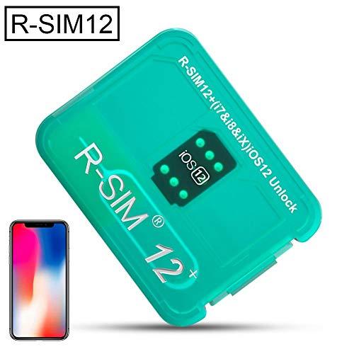 bitcircuit R-SIM 12 + Schaltet CHIP Frei, ICCID Wird Automatisch Angezeigt, Kompatibel Mit iPhone 5 - XS Max, Schaltet Sprint, VERIZON, ATT, TMOBILE, Metro Und XFINITY Für Jede GSM-SIM-Karte Frei - Sprint 5 Iphone
