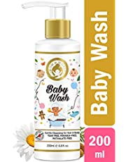 Mom World Baby Wash Tear Free Gentle Cleansing For Hair