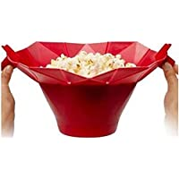 Silicone Microwave Popcorn Maker Popcorn Popper Homemade Delicious Popcorn Bowl Baking Tools Kitchen Bakingwares DIY Bucket