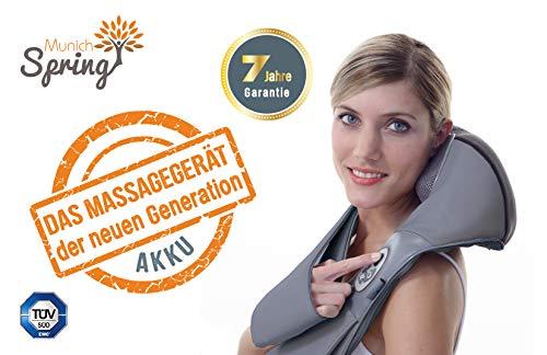 DAS MASSAGEGERÄT DER NEUEN GENERATION mit Akku - Das OPTIMUS NEW GENERATION Plus Massagegerät * Ganzkörpermassagegäret * mit Wärmefunktion * 8 Massagekugeln * 7 Jahre Garantie *
