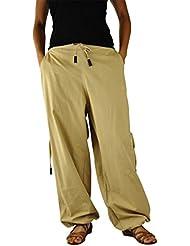 pantalones cagados cortos y largos para hombres y mujeres. Pantalones bombachos para hombres y mujeres como ropa hippie de virblatt S - L – Praktisch