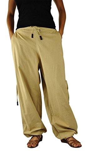 virblatt Pantalones cagados mujer cargo - Praktisch - de playa f1c2784d829c