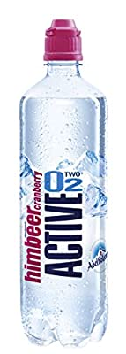 Active O2 Himbeer Cranberry, 8er Pack, Einweg (8 x 750 ml)