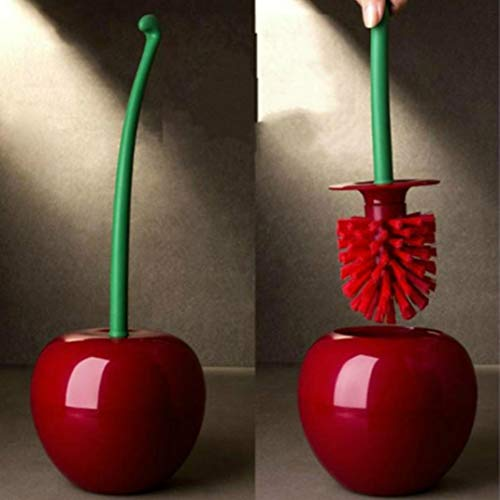 Gaddrt cherry shape, spazzolone wc bagno wc clean tool supply bagno spazzola, red