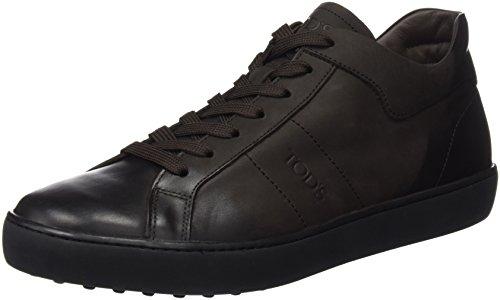 TODS - Xxm0Un0K830Mvns800, Zapatos De Cordones Brogue da uomo, multicolore (testa moro + fondo nero), 42