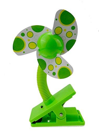 Tragbare USB/Batterie Clip-on Fan Baby Stroller Jogger Mini Clip Ventilator für Schreibtisch, Zelte, Auto, Bett kühlen Sommer - 3 Farben, Blau -