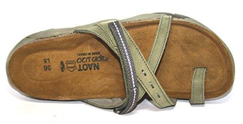 Naot - Pantofole Donna Grün (Army Nubuk)
