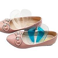 Sumferkyh Flache Fuß-Silikon-Fußauflage-Stützmassage-halbe Yard-Auflage-Xo-Art Bein-Korrektur-Auflage, 5 Paare... preisvergleich bei billige-tabletten.eu
