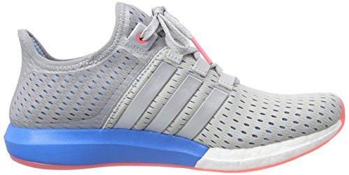 adidas Climachill Gazelle Boost, Chaussures de Running Compétition Femme Grau (Clear Grey/Silver Met./Solar Blue2 S14)