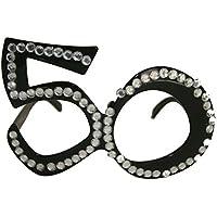 Birthday Party Glasses 50th Birthday - Black