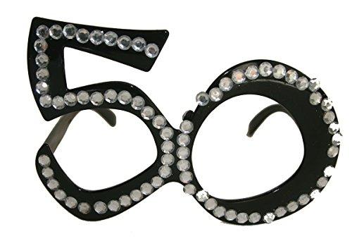 Folat Vidrios fiesta cumpleaños número 50 tamaño