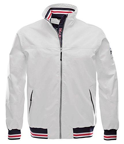 Marinepool Herren Funktionssegelbekleidung Cherbourg Jacke White S