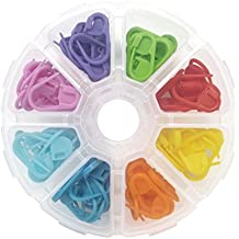 Newkeen 104 Piezas Marcadores de Puntos de Bloqueo Contador de Puntos de Crochet de Colores Variados