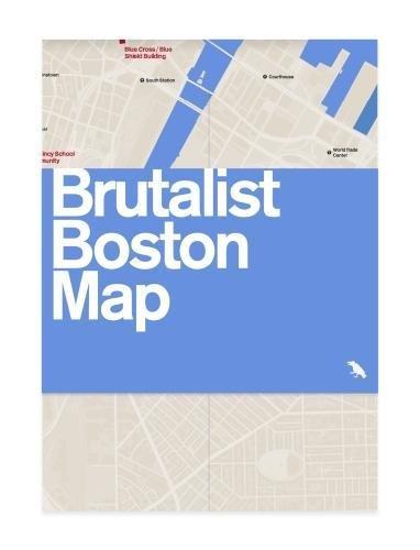 Brutalist Boston Map: Guide to Brutalist Architecture in Boston Area