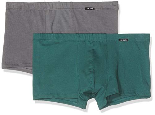 Preisvergleich Produktbild Skiny Herren Advantage Men Pant 2er Pack Retroshorts,  Mehrfarbig (Castlerock Selection 8462),  Medium
