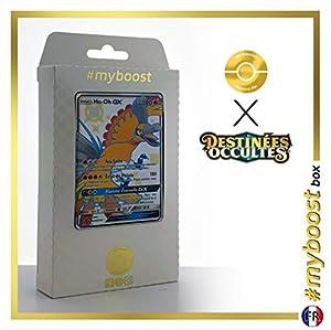 Ho-Oh-GX SV50/SV94 Variocolor - #myboost X Soleil & Lune 11.5 Destinées Occultes - Box de 10 cartas Pokémon Francés