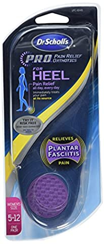 Dr. Scholls Heel Pain Relief Orthotics For Women - 1 Pair