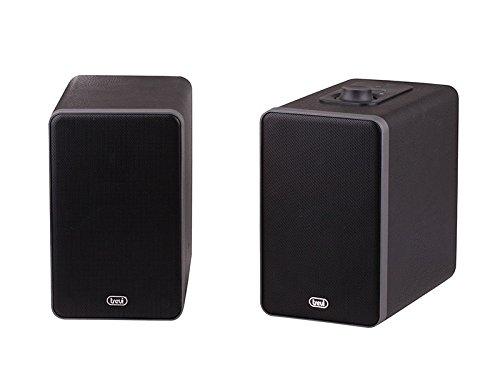 Trevi SH-8400BT–Tragbare Lautsprecher (2.0, Eingebaut, 2Wege, 36W, 50–20000Hz, 60dB) schwarz