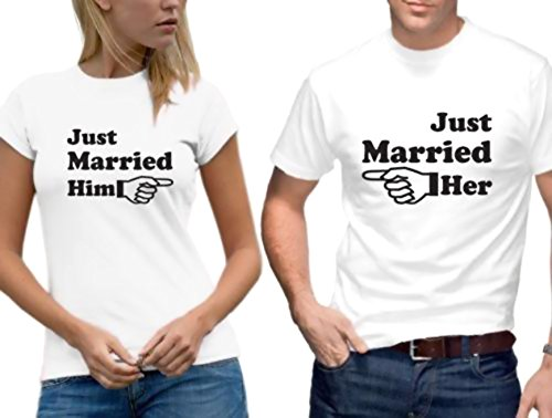 JUST MARRIED COUPLE TSHIRTS
