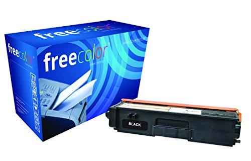 Preisvergleich Produktbild freecolor TN320BK für Brother HL-4140CN, Premium Tonerkartusche, wiederaufbereitet, 2.500 Seiten, 5 Prozent Deckung, BLACK