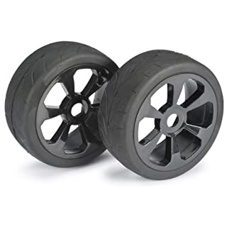 Absima Wheel Set Buggy 6 Spoke/Street Black 1: 8 (2 Pcs) (2530008)