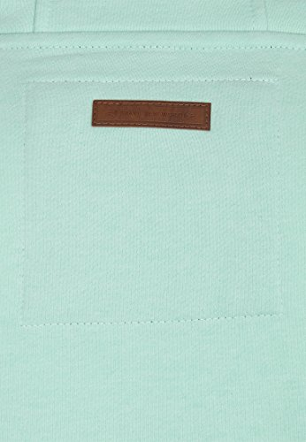 Naketano Male Zipped Jacket Birol IX Ice Green Melange
