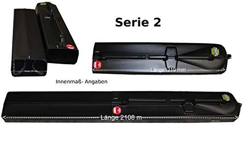 Sportube Multi Teleskop Rutenkoffer Angelrute Hardcase Koffer Trolley Angel Tasche Fische (Bag-Serie-2)