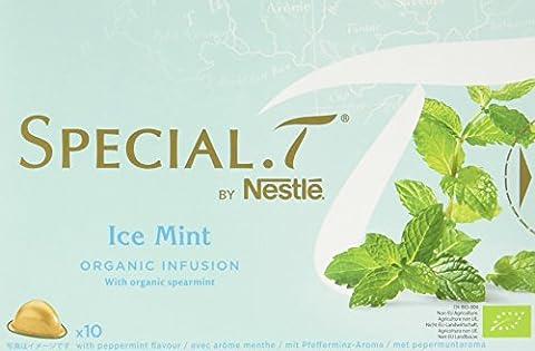 SPECIAL.T by Nestlé Infusion Biologique Menthe Glaciale 10 capsules -