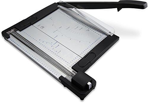 NEUHEIT: zoomyo OC500 Papier-, Rollen- und Hebelschneider aus Metall | 4 Schnittmöglichkeiten in einem Gerät | Sonderposten so lange der Vorrat reicht!