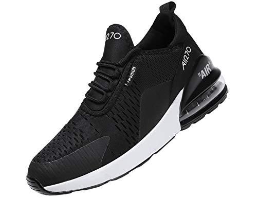 SINOES Unisex Sportschuhe Laufschuhe Turnschuhe Atmungsaktiv Sneakers Air Sport Casual Shoes Herren Damen