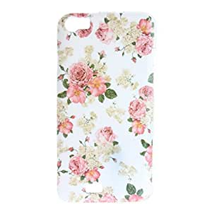 "Per Wiko Lenny 5.0 "" , ivencase Bello Fiore Modello [Morbido TPU Gel] Struttura Ultra Thin Flexible Slim Back Skin Protectiva Custodia Case Cover Perfetto Fit Per Wiko Lenny 5.0 """