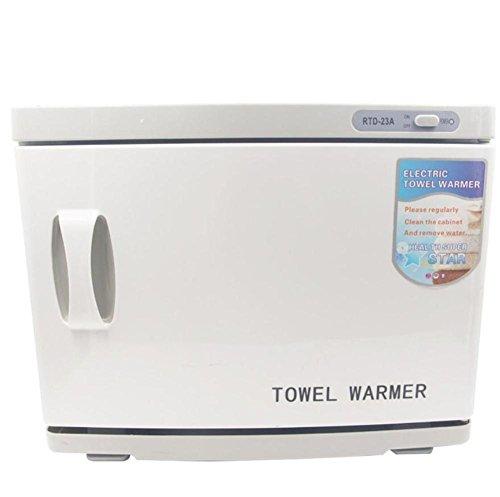 wenrit Hot Towel Wärmer Sterilisator Handtuch Sterilisator 23L Cabinet Home Gesichtshaut Spa Werkzeug Haar Beauty Salon Ausrüstung 2 in 1 UV