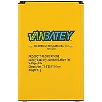 LG G3 batería BL-53YH battery para LG G3 D850 D855 F400 LS990 VS985 D852 D851 [ Li-ion 3000mAh ]