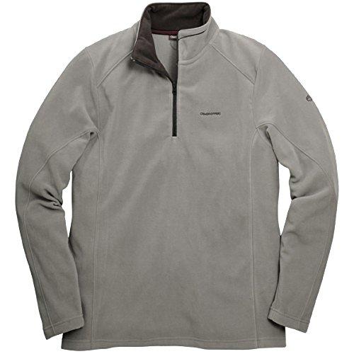 Craghoppers Herren Micro-Fleece-Oberteil Corey II (XL) (Granit) Micro-herren-pullover