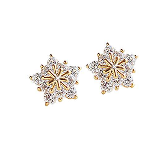 Hjfgy Copos de nieve condecorados
