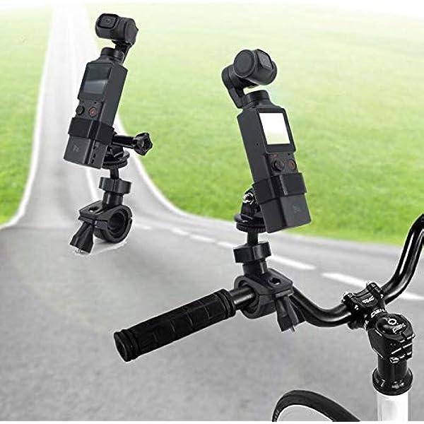 Honbobo Fahrradhalterung Feste Clip Für Fimi Palm Insta360 One R Für Gopro Camera Sport Freizeit