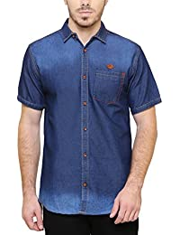 380ecc6bfb Denim Men s Shirts  Buy Denim Men s Shirts online at best prices in ...