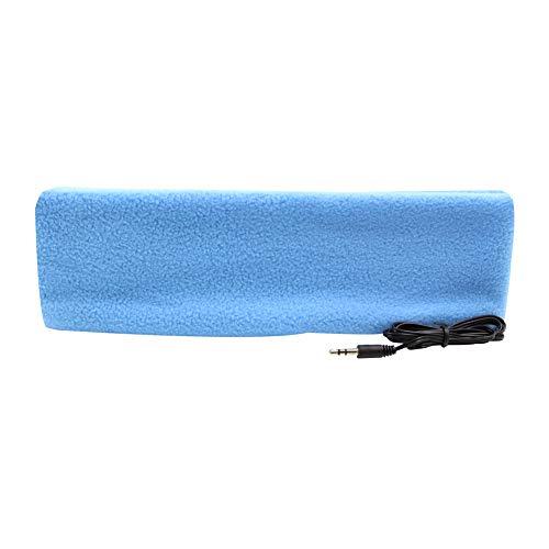 örer Stirnband Kopfhörer Ultra Dünn Kopfhörer die Meisten Bequeme Kopfhörer für Schlafen Air Travel Workout Schlaflosigkeit, Himmelblau ()