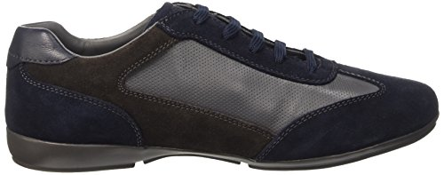 Geox U Efrem A, Low-Top Chaussures homme Bleu (Navy/Grey)
