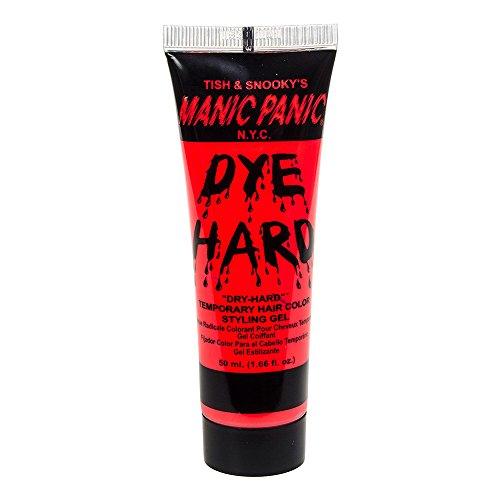 Manic Panic Dye Hard Gel Coiffant Coloré Pour Cheveux (Rouge Lave Electrique)