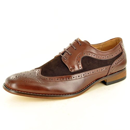 My Perfect Pair , Chaussures de ville à lacets pour homme Marron