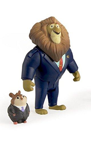 Tomy Zootropolis Sindaco Lionhart E Lemming Affari Pack Personaggi