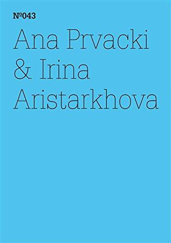 Ana Prvacki & Irina Aristarkhova: Das Begrüßungskomitee berichtet ... (dOCUMENTA (13): 100 Notes - 100 Thoughts, 100 Notizen - 100 Gedanken # 043) (dOCUMENTA ... Notizen - 100 Gedanken 43) (German Edition) por Ana Prvacki