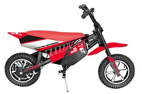 GoSkitz Dirt 25 Moto Eléctrica para Niños Color Rojo Intventia 7182-8